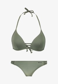 Bruno Banani - TRIANGEL SET - Bikini - oliv - 4