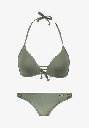 TRIANGEL SET - Bikini - oliv