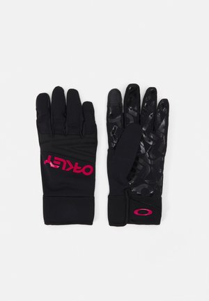 FACTORY PARK GLOVE  - Gloves - black/rubine