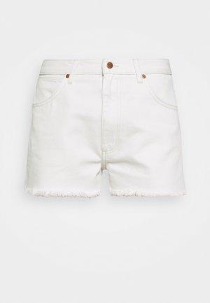 FESTIVAL  - Denim shorts - white sand