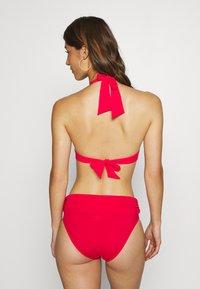 Pour Moi - SANTA MONICA FOLD OVER TIE BRIEF - Bikinibroekje - red - 2