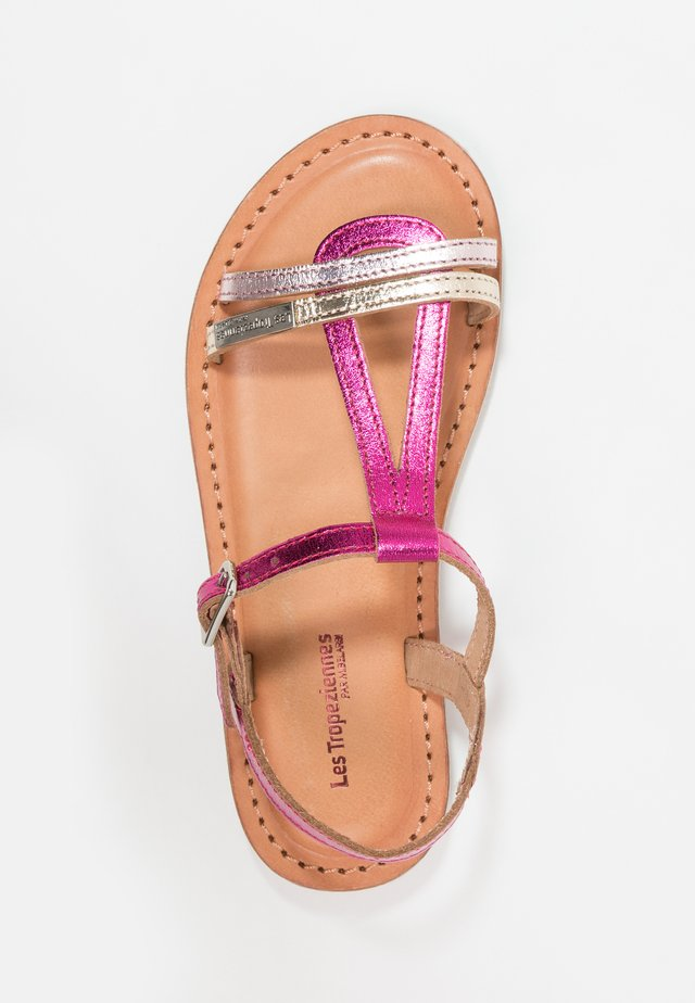 BADA - Sandals - fuchsia/multicolor