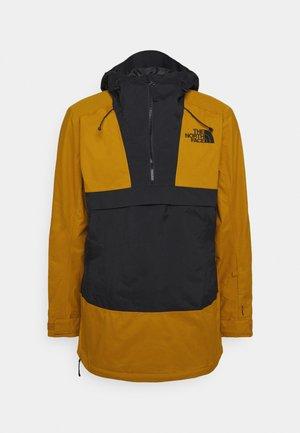 SILVANI ANORAK - Ski jacket - tan/black