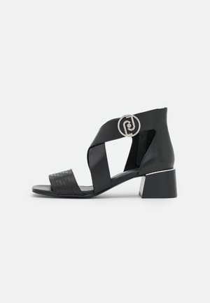 PALMA - Sandals - black