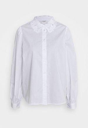 JDYCARRIE - Button-down blouse - bright white