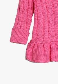 Polo Ralph Lauren - PEPLUM CARDI BABY - Kardigan - baja pink - 3