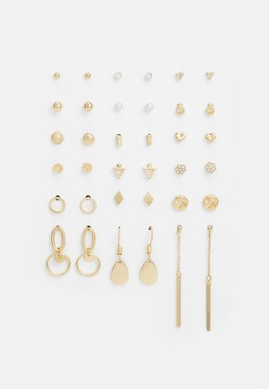 CARMELA EARRING 18 PACK - Øredobber - gold-coloured