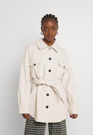 MY DEAREST SHACKET - Short coat - light beige