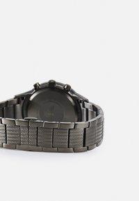 Emporio Armani - Chronograph watch - gunmetal - 1