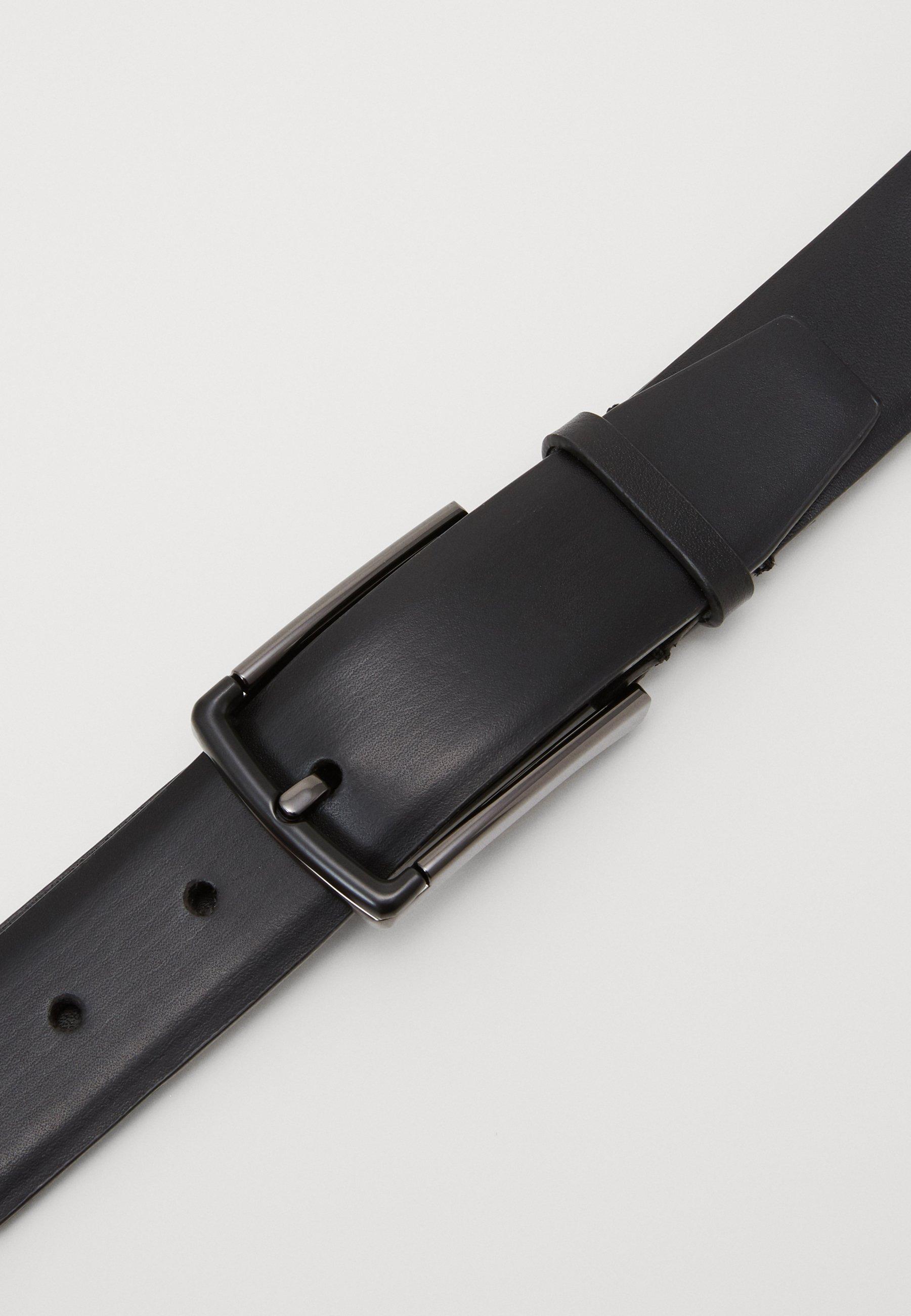Zign LEATHER - Belte - black/svart pZWHC55Fj3CyRK0
