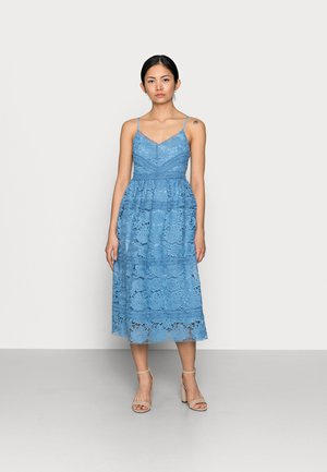 YASFRIO STRAP MIDI DRESS - Cocktail dress / Party dress - blue heaven