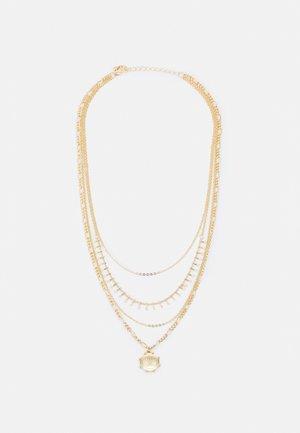 PCNARYA COMBI NECKLACE - Collana - gold-coloured
