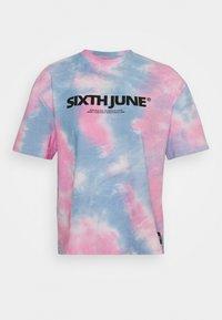 Sixth June - TIE DYE - Triko spotiskem - pink - 0