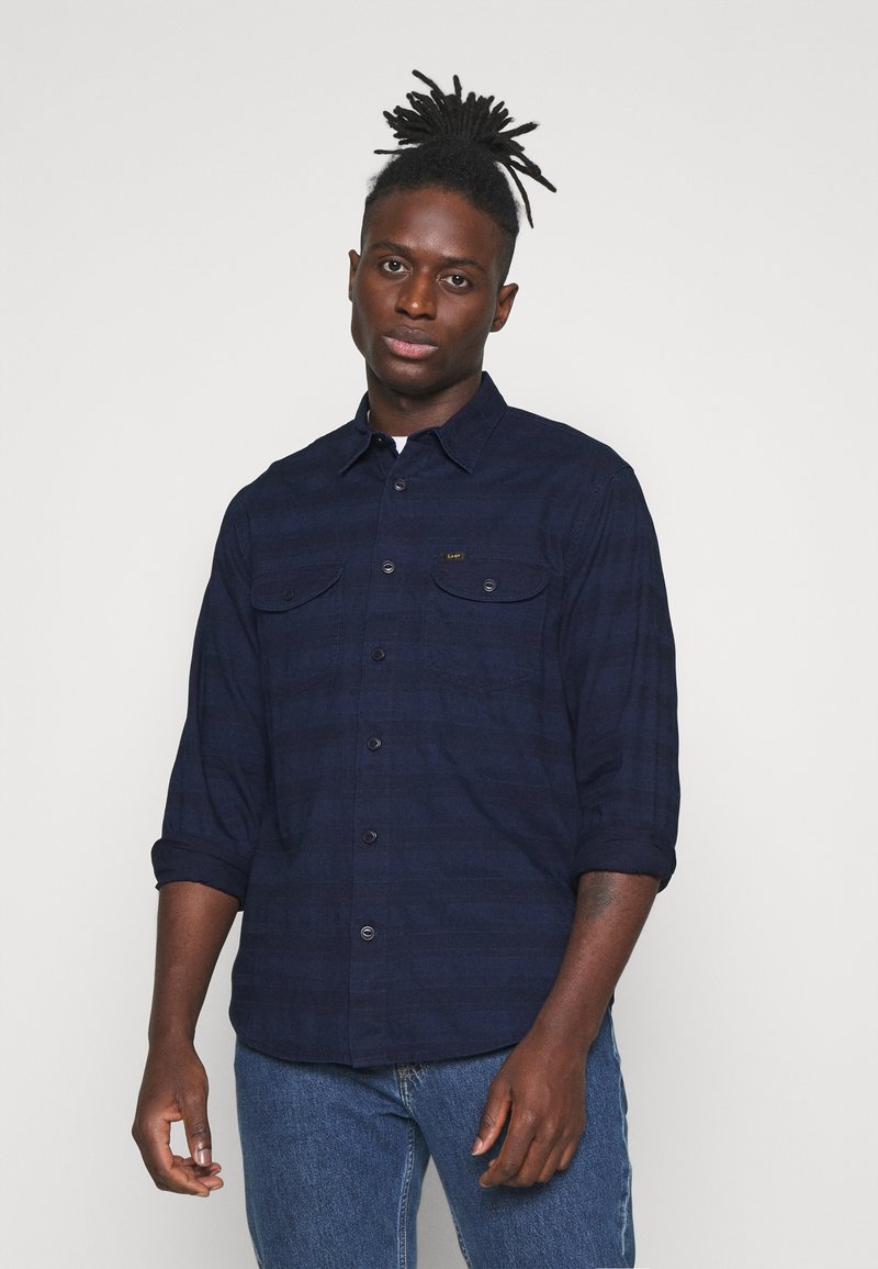 Lee - WORKER - Shirt - indigo