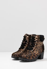 River Island - Lace-up ankle boots - brown - 3