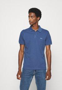 s.Oliver - KURZARM - Polo shirt - dark blue - 0