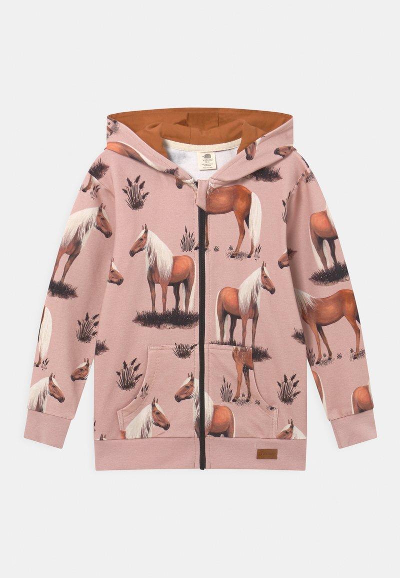Walkiddy - BEAUTY HORSES - Zip-up sweatshirt - pink