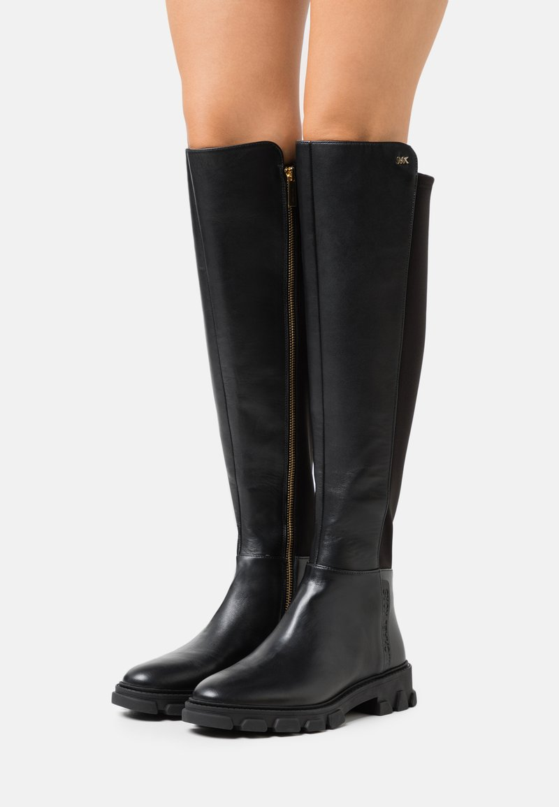 MICHAEL Michael Kors - RIDLEY BOOT - Over-the-knee boots - black