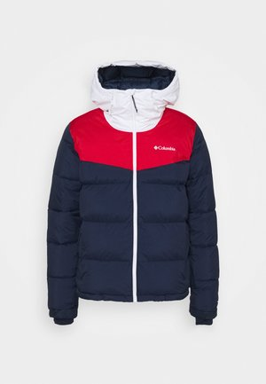 ICELINE RIDGE JACKET - Veste de ski - collegiate navy/mountain red/white