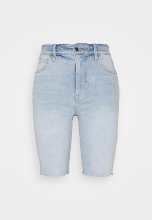 GOOD BERMUDA - Denim shorts - blue