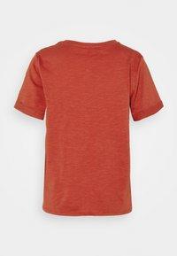 edc by Esprit - TIE TEE - Print T-shirt - terracotta - 1