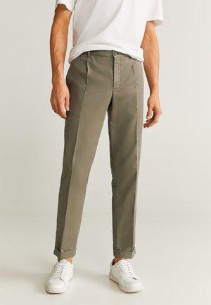 VIBES - Trousers - khaki