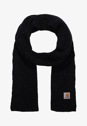 ANGLISTIC PLAIN SCARF - Bufanda - black heather