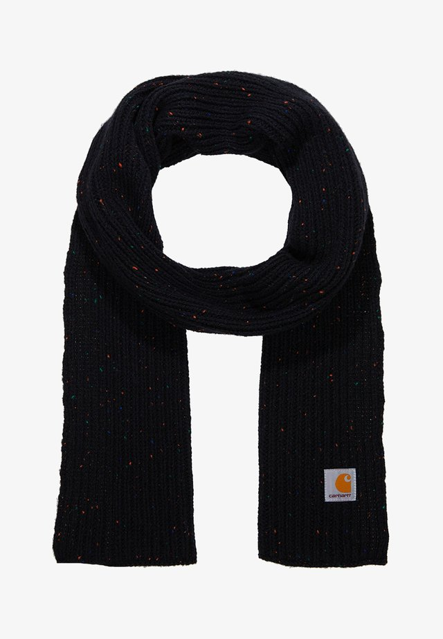 ANGLISTIC PLAIN SCARF UNISEX - Šála - black heather