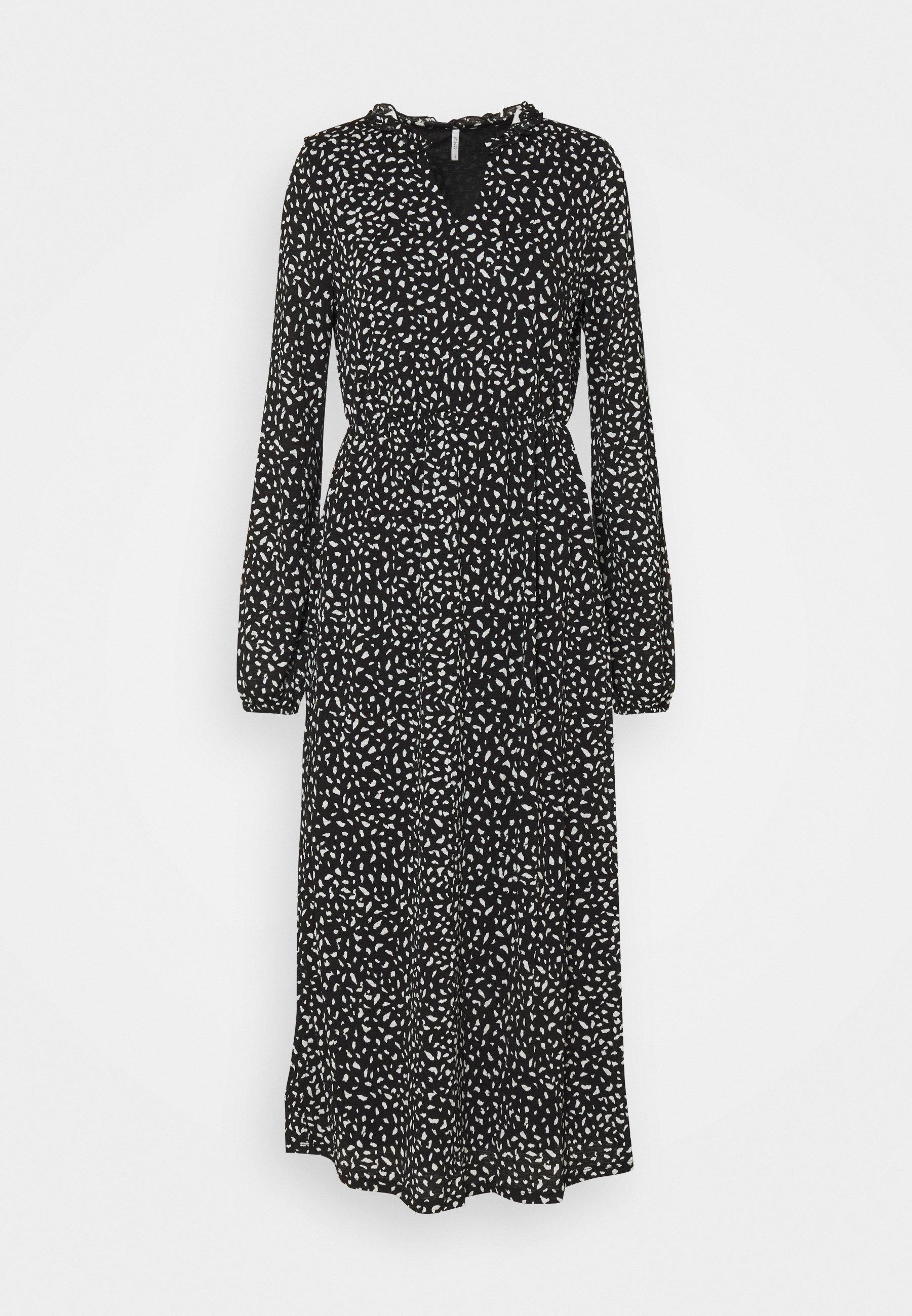Women ONLPELLA  FRILL DRESS - Maxi dress