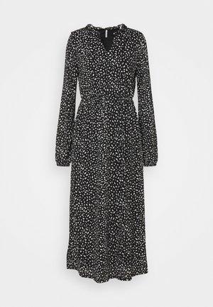 ONLPELLA  FRILL DRESS - Maxikjole - black
