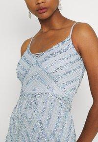 Lace & Beads - SAFFRON MAXI - Iltapuku - celestial blue - 6