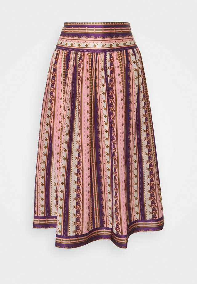 PLEATED SKIRT - Gonna a campana - wandering