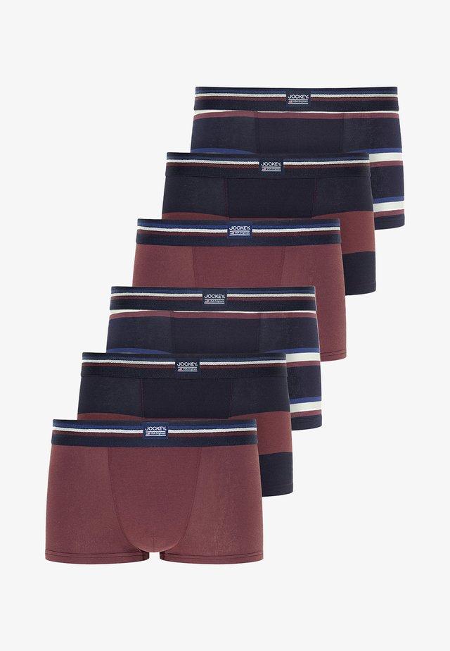 6 PACK - Onderbroeken - light claret