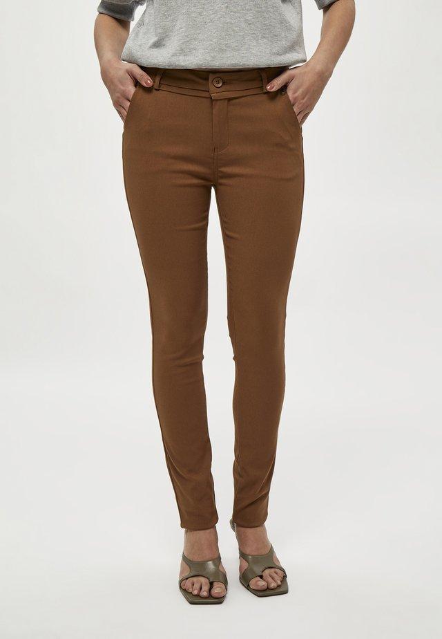 CARMA  - Tygbyxor - walnut brown