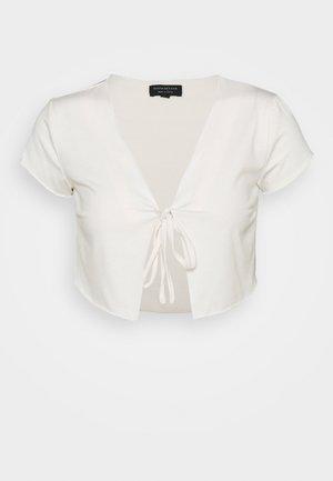SHORT SLEEVE TIE  - T-shirt print - sugar swizzle