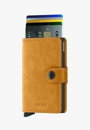 Wallet - vintage ochre