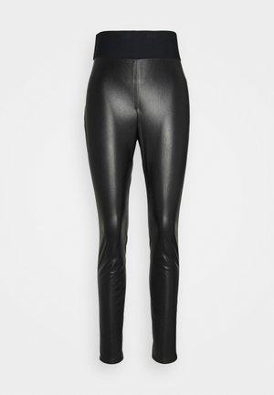 HONATI - Pantalon classique - black