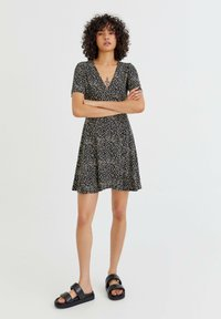 PULL&BEAR - Sukienka letnia - black - 1