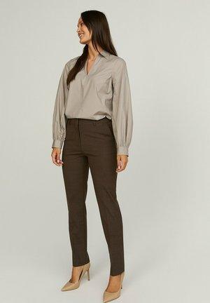 KAREN  - Trousers - brown