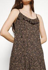 Cotton On - BECKY STRAPPY RUFFLE MAXI DRESS - Maxi dress - black - 4