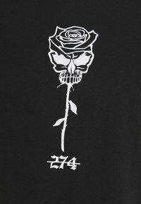 274 - SKULL ROSE TEE - Print T-shirt - black - 4