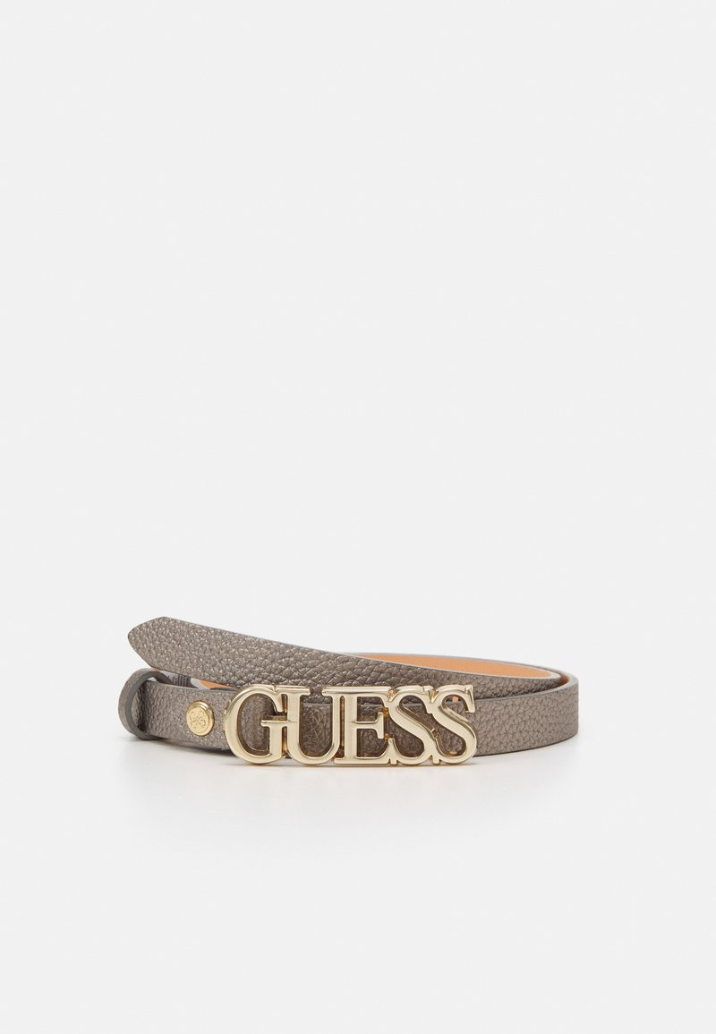 Guess - UPTOWN CHIC PANT BELT - Belt - pewter