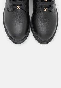 Mexx - FLUX - Lace-up ankle boots - black - 5