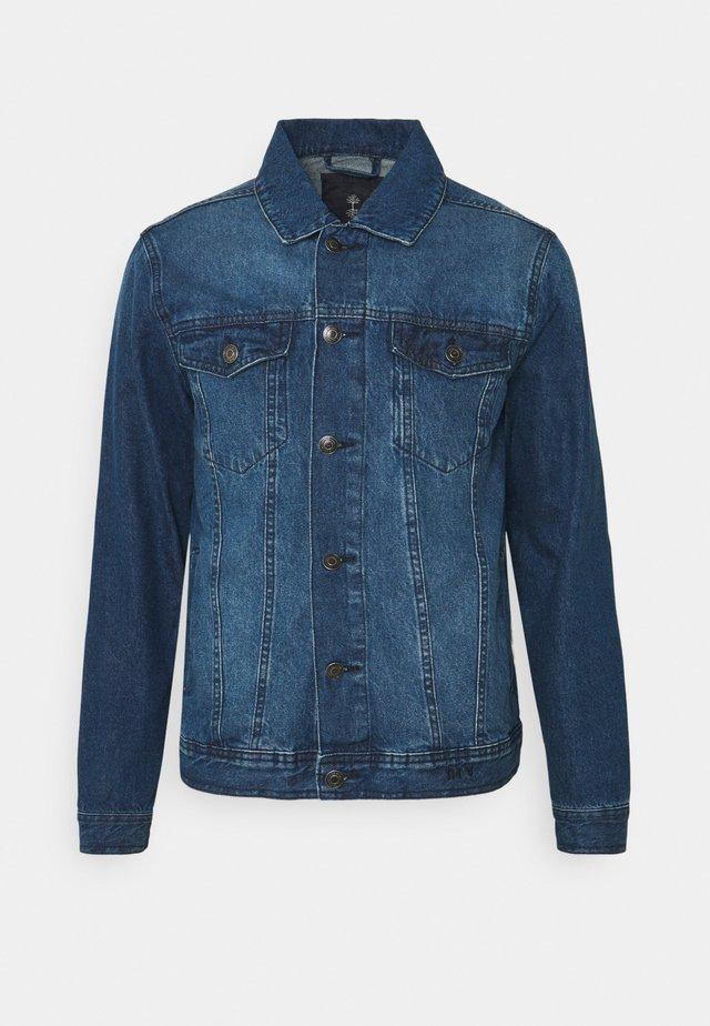 NEADAM JACKET - Kurtka jeansowa - dark blue