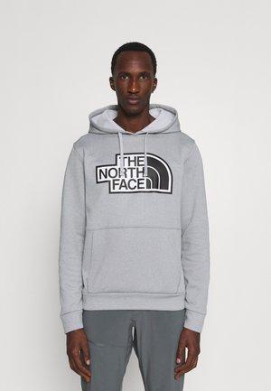 EXPLORATION HOODIE - Sweatshirt - light grey heather/black