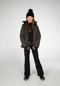 Protest - CANDY JR  - Snowboardová bunda - true black - 4