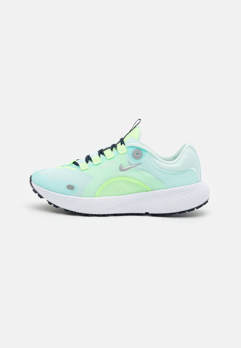 Nike Performance - REACT ESCAPE RN - Neutral running shoes - teal tint/metallic silver/ghost aqua/off noir/particle grey
