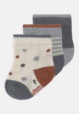 TINY FARMER 3 PACK - Ponožky - blue