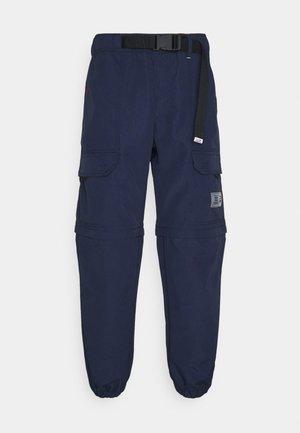 BLOCK WINDPANT - Cargo trousers - twilight navy