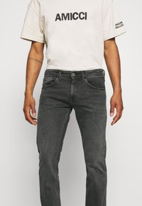 Pepe Jeans - CASH 5 PKT - Jeansy Slim Fit - grey denim - 3